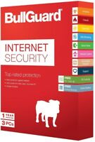 BullGuard Internet Security 2019 (1Year/3PCs) Genuine License Download Code