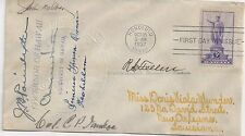 1937 Hawaiian Issue FDC Autographed by Princess, Governor and Others