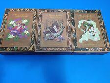 Rurouni Kenshin - Premium Collection Boxed Sets COMPLETE SET. ALL 3 BOXES. Rare