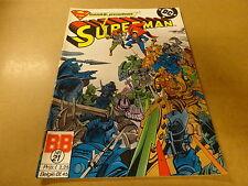 COMIC BALDAKIJN DC / SUPERMAN N° 21