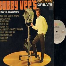 Golden Greats by Bobby Vee lp / vinyl / very good light wear to sleeve/disc