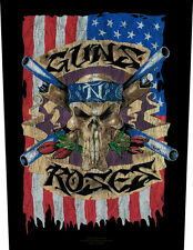 Guns 'N' ROSES-US FLAG schiena ricamate patch BACK