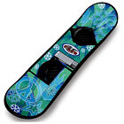 Flexible Flyer Avenger Kids & Teens Plastic Snowboard with Foot Straps(Open Box)