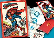SUPERMAN > ALTES SCHULHEFT DC COMICS 1979 UNBENUTZT  > EXCERCISE BOOK > BATMAN