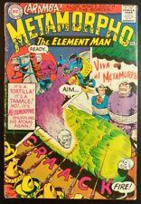 METAMORPHO #4 The Element Man (1966 DC Comics) ~ LOW GRADE Book