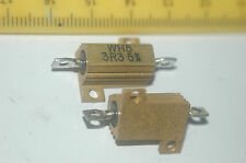 WELWYN WH5-3R3JI Solder 3.3OHM 5Watt 5% Wire Wound Resistor New Lot Quantity-3