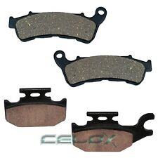 FIT SUZUKI UH200 UH200A BURGMAN 200 2007 2008 2009-2014 FRONT REAR BRAKE PADS