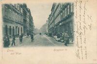 VIENNA - Burggasse VII Gruss Aus Wien 1901 Postcard - Austria - udb