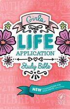 NLT Girls Life Application Study Bible  (2016, Paperback)
