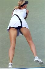 MARIA SHARAPOVA - LUNGING FOR A SHOT !!!