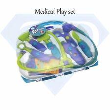 Kids Children's Role Play Doctor Nurses Toy Medical Set Kit Poison Hard Case-New