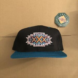 Vtg NWT Dallas Cowboys Super Bowl 30 Youth Size Snapback Hat Starter Football