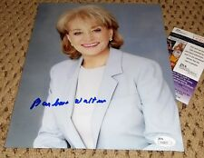 BARBARA WALTERS SIGNED 8X10 PHOTO AUTOGRAPH JSA THE VIEW
