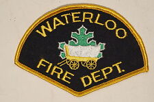 Canadian Ontario Waterloo Fire Department Patch 2