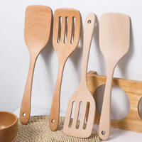 Bamboo Wooden Kitchen Utensils Cooking Tool Spatula Spoon Turner Shovel NEW
