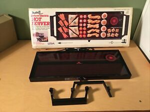 NEW NOS Vintage MID CENTURY BROIL KING DELUXE ELECTRIC COUNTER HOT SERVER RETRO