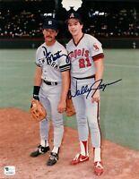 Don Mattingly - Wally Joyner Signed 8X10 Photo Dual Autograph Yankees/Angels COA
