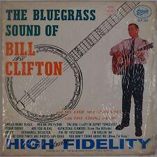BILL CLIFTON: Bluegrass Sound USA Starday ORIG DG Vinyl LP Shrink Baggy