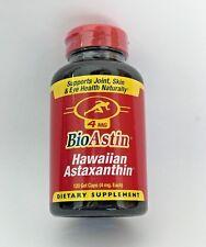 BioAstin Hawaiian Astaxanthin Nutrex Hawaii 120 gel caps 4mg - Exp 01/2021