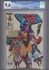 Heros for Hope Starring the X-Men #1 1985 Marvel CGC 9.6 Steven King : New Frame