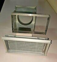 EDILKAMIN griglia grigia o gialla accessorio bocchetta per tubo diam cm10cm
