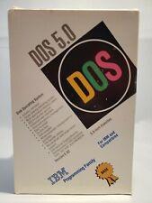 IBM DOS 5.0 Version 5.02 1992 Open BOX