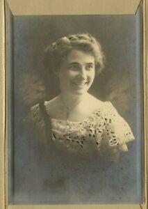 Vintage Armoire Carte Beau Jeune Fille Nommé Joy De Gresham Oregon Dossier