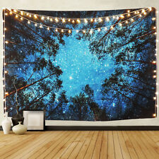 Psychedelic Tapestry Wall Hanging Starry Sky Fabric Wall Tapestry Home Decor USA