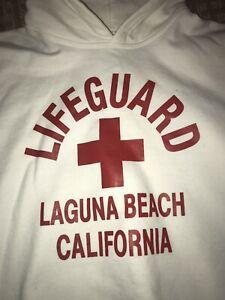 Laguna Beach Life Guard Youth Sweatshirt Size XL youth, 50 cotton 50 polyester