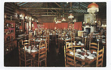 Dining Room, Old Spinning Wheel Restaurant, Hinsdale IL, 1950s Illinois