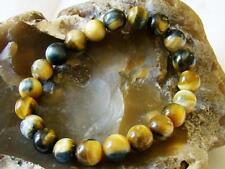 Natural Gemstone ELASTIC bracelet 10mm Tiger Eye beads