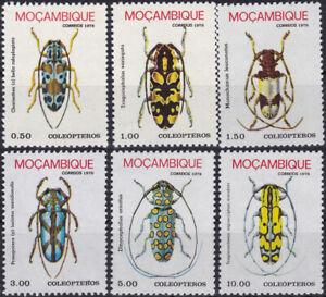 Mozambique 1978 SG699 Beetles Set Complete MNH - US-Seller