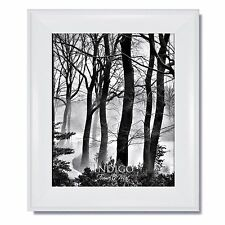 Set of 3 - 16x20 Metro White Picture Frame with Clear Glass and Backing