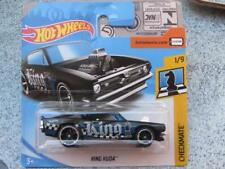 "Hot Wheels 2018 # 261/365 Rey Kuda Negro Azul"" Rey"" Jaque Mate Ajedrez Plymouth"