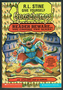 GY, GOOSEBUMPS, LITTLE COMIC SHOP OF HORRORS #17, 1st edition USA, AS NEW,UNREAD