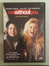 michelle williams ME WITHOUT YOU  anna friel   DVD   includes insert