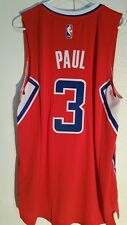 Adidas Swingman 2014-15 NBA Jersey Clippers Chris Paul Red sz S