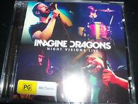 Imagine Dragons Night Visions Live (Australia) CD DVD - New