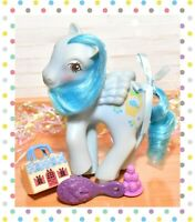 ❤️My Little Pony MLP G1 Vtg 1980's Sweetberry Ponies Pegasus Blueberry Baskets❤️