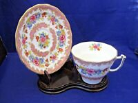 ANTIQUE OLD ROYAL TEA CUP AND SAUCER # 2878 - BONE CHINA - ENGLAND