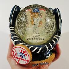 FOREVER COLLECTIBLES LEGENDS OF THE DIAMOND ALEX RODRIGUEZ SNOW GLOBE NY YANKEES