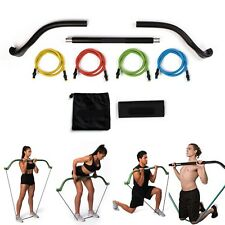 Exercise Bow 3 Piece Heavy Bow Like Gorilla Bow Full Body Resistance Travel kit