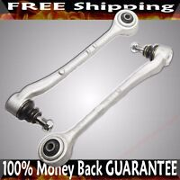 Front Driver Lower Forward Control Arm Silver for 95-01 BMW 740i 740iL