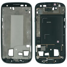 Samsung Galaxy S3 GT- i9300 Display LCD Rahmen Cover Gehäuse silber