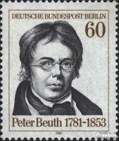 Berlin (Ouest) 654 (édition complète) oblitéré 1981 peter beuth