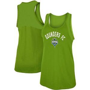 Seattle Sounders FC 5th & Ocean by New Era Women's Slub Racerback Tank Top -