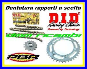 Kit Trasmissione MOTO MORINI CORSARO 1200 07 catena corona pignone PBR DID 2007