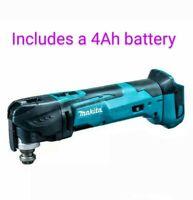 Makita 18V DMT51Z Cordless Oscillating Multi-Tool  18 Volt Lit-Ion & 4Ah Battery