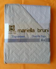 TRAPUNTINO COPRILETTO COPERTA PRIMAVERILE DOUBLE FACE SINGOLO/MATRIMONIALE 100GR