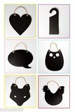 Placas y señales decorativas de color principal negro para el baño